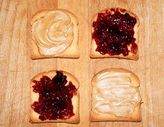Peanut Butter and Jelly on Rye