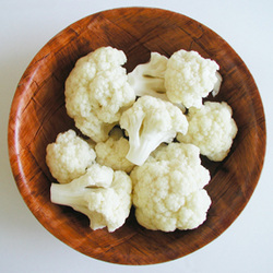 Breaded Cauliflower (Baked- not deep fried!)